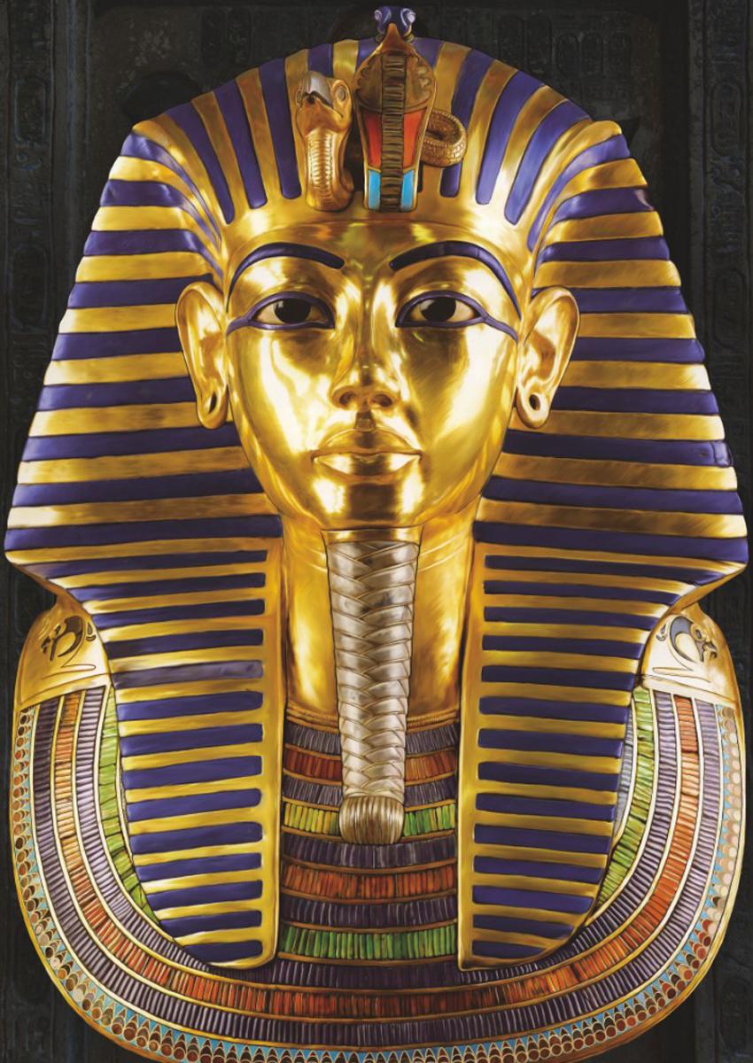 Ancient Egypt Tutankhamun Cultural Art Jigsaw Puzzle