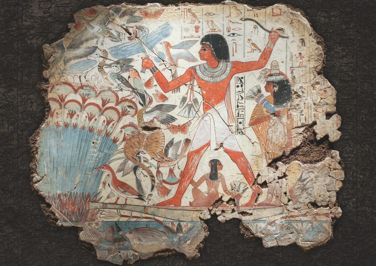 Ancient Egypt Hieroglyphics Cultural Art Jigsaw Puzzle