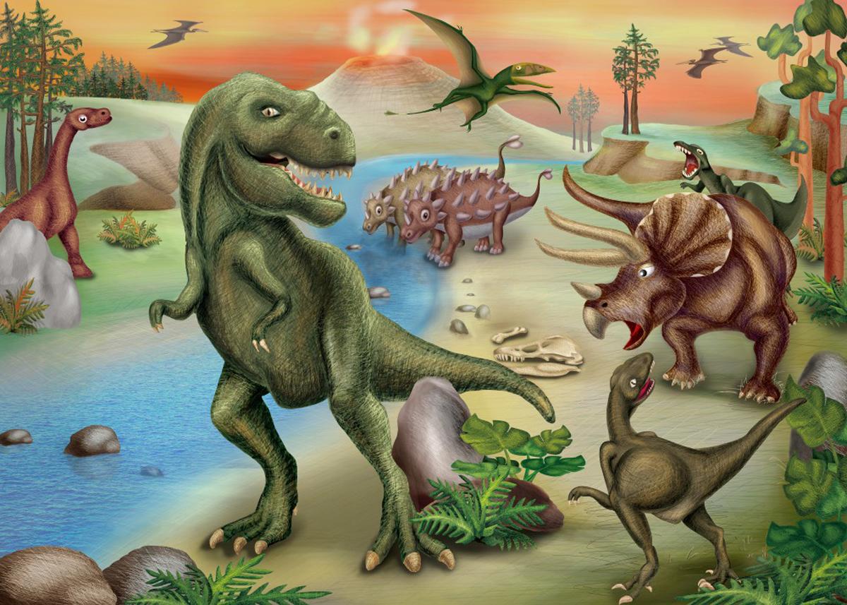 T-Rex Dinosaurs Jigsaw Puzzle