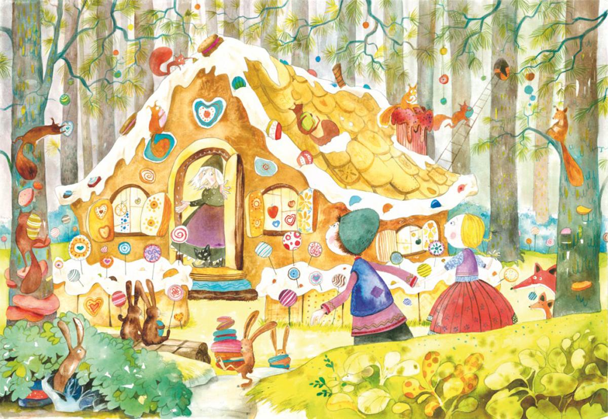 Hansel And Gretel Fantasy Jigsaw Puzzle