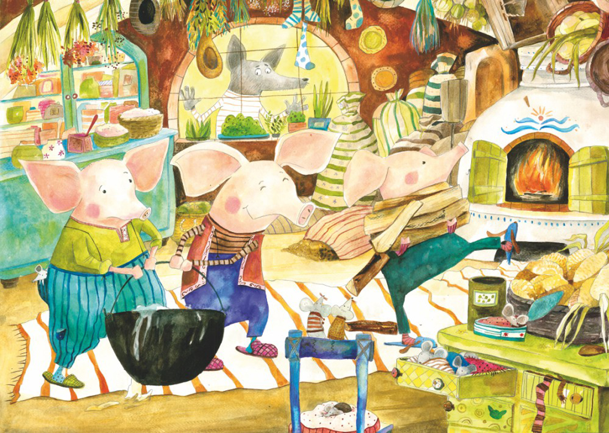 The Three Little Pigs Jigsaw Puzzle