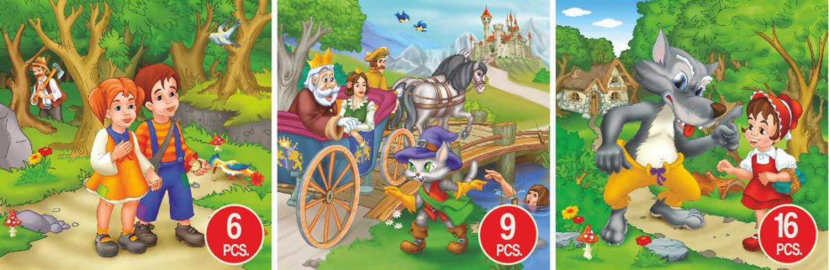 Fairy Tales Adventures Fantasy Jigsaw Puzzle