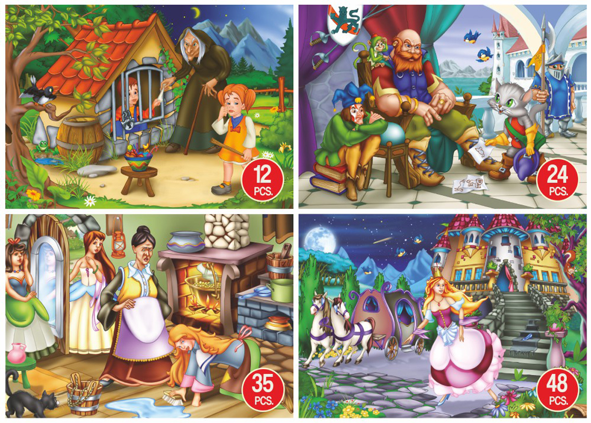 Fairy Tales Stories Fantasy Jigsaw Puzzle