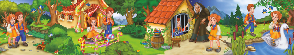 Hansel and Gretel Floor Puzzle Fantasy Jigsaw Puzzle