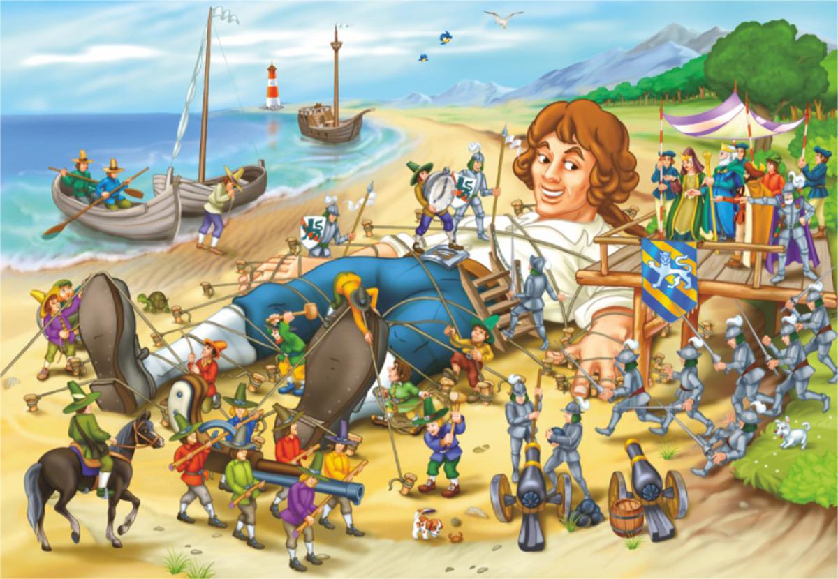 Gulliver's Travels Fantasy Jigsaw Puzzle