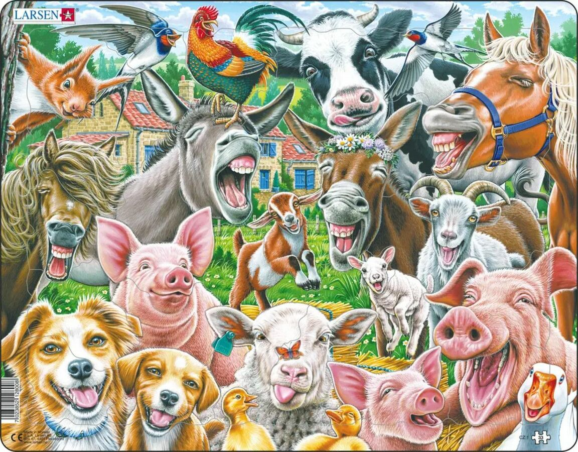 Happy Farm Farm Tray Puzzle