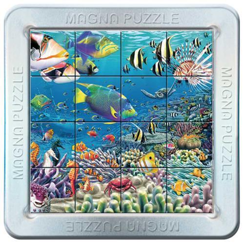 3D Magna Puzzle - Seavillians Marine Life Lenticular