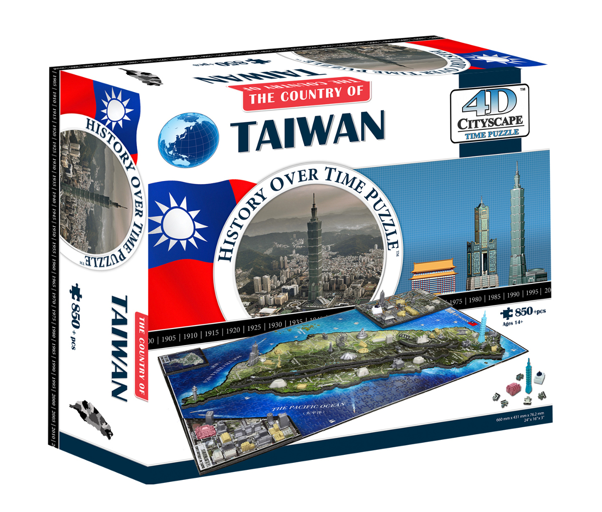 Taiwan Maps / Geography Jigsaw Puzzle