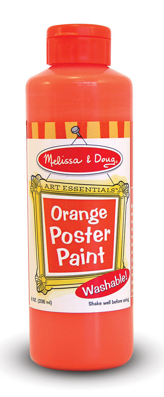 Orange poster paint - Painting tips will make home come alive ...