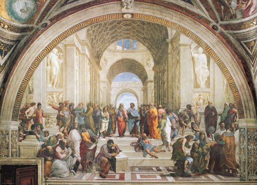 School of Athens Fine Art Jigsaw Puzzle
