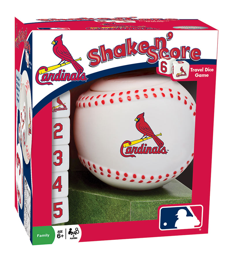 MLB Shake n' Score - St. Louis Cardinals - Scratch and Dent St. Louis
