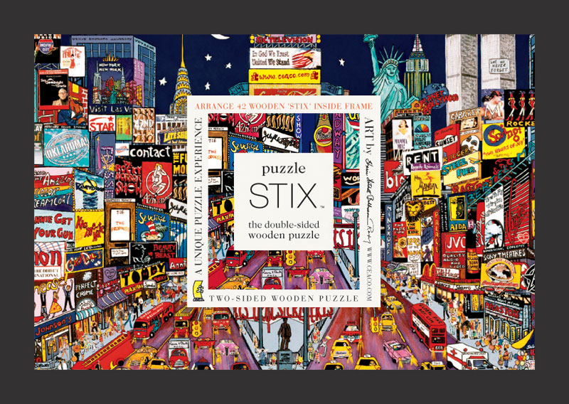 Puzzle Stix - New York Cities Children's Puzzles