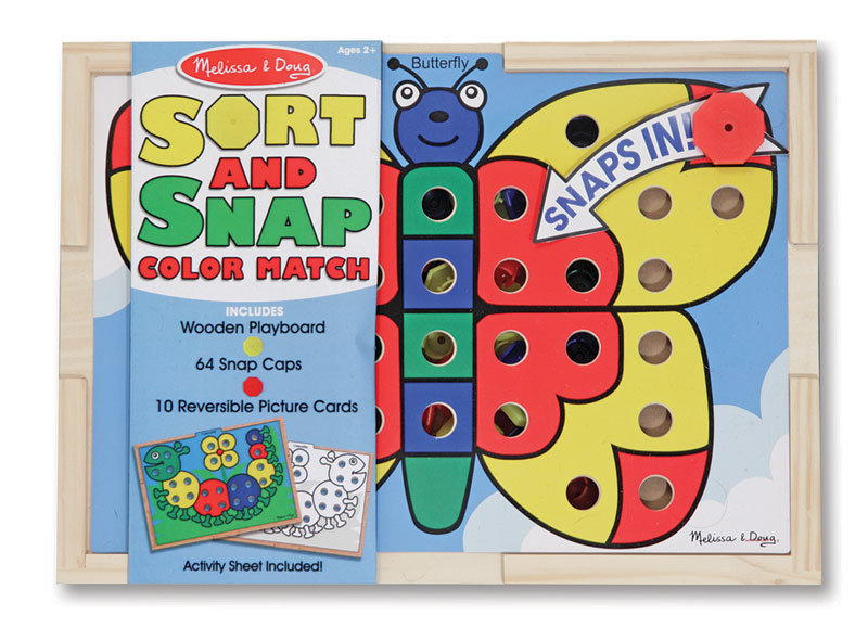 Sort and Snap Color Match, Melissa and Doug | Puzzle Warehouse