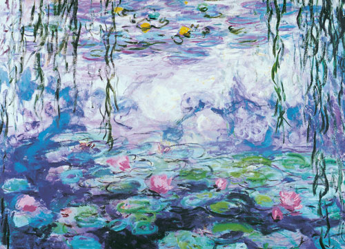 Waterlilies Fine Art Jigsaw Puzzle