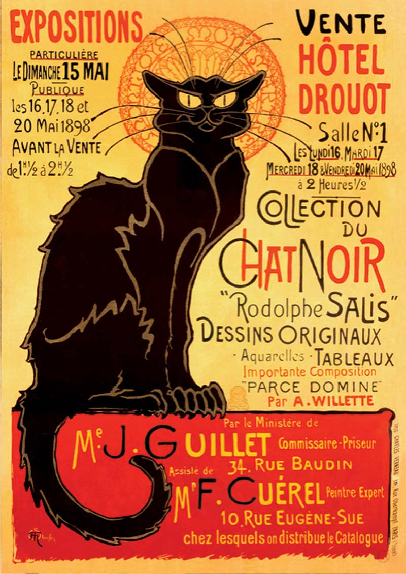 Chat Noir Graphics / Illustration Jigsaw Puzzle