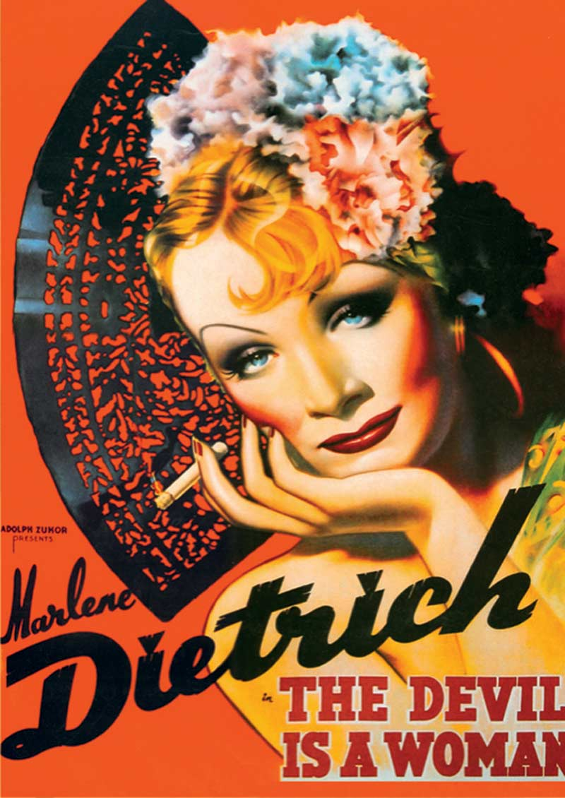 Marlene Dietrich - Scratch and Dent Graphics / Illustration Jigsaw Puzzle