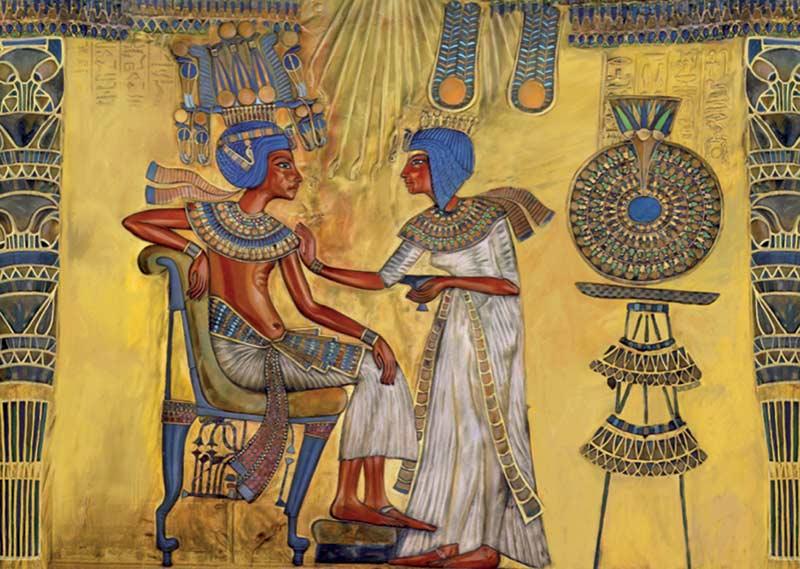 Egyptian Art (Around the World) Africa Jigsaw Puzzle