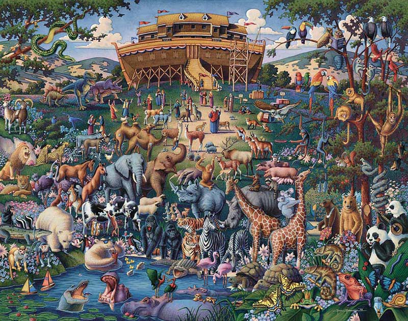 Noah's Ark - Luggage Edition Collectible Packaging