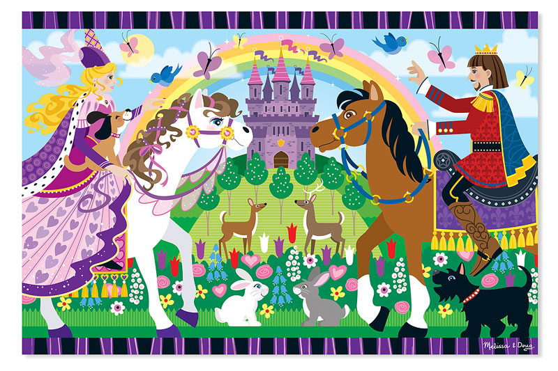 Fairy Tale Friendship - Floor Princess Children's Puzzles