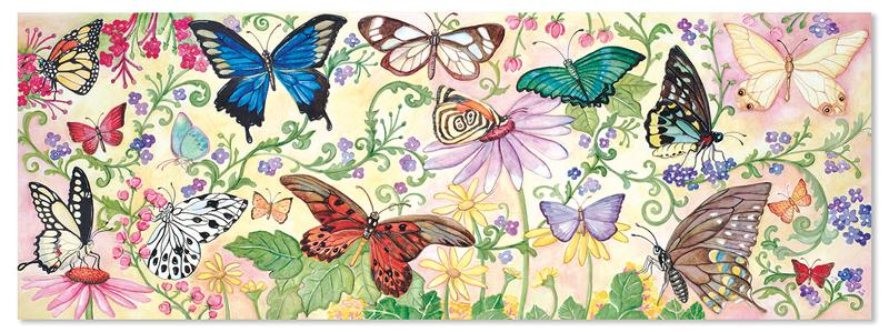 Butterfly Bliss - Floor Butterflies and Insects Children's Puzzles
