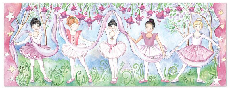 Bella Ballerina Dance Jigsaw Puzzle