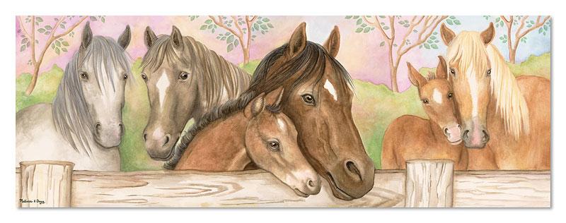 Horse Corral - Floor Horses Children's Puzzles