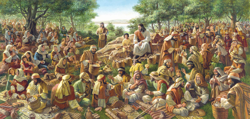 All Were Satisfied Religious Jigsaw Puzzle
