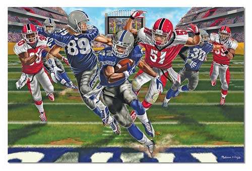 Touchdown - Floor Sports Children's Puzzles