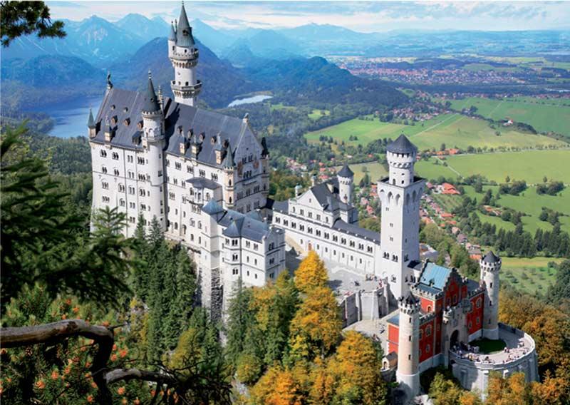 Neuschwanstein (Around the World) Travel Jigsaw Puzzle