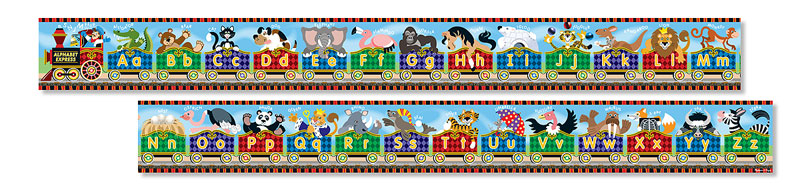 Alphabet Express Educational Jigsaw Puzzle