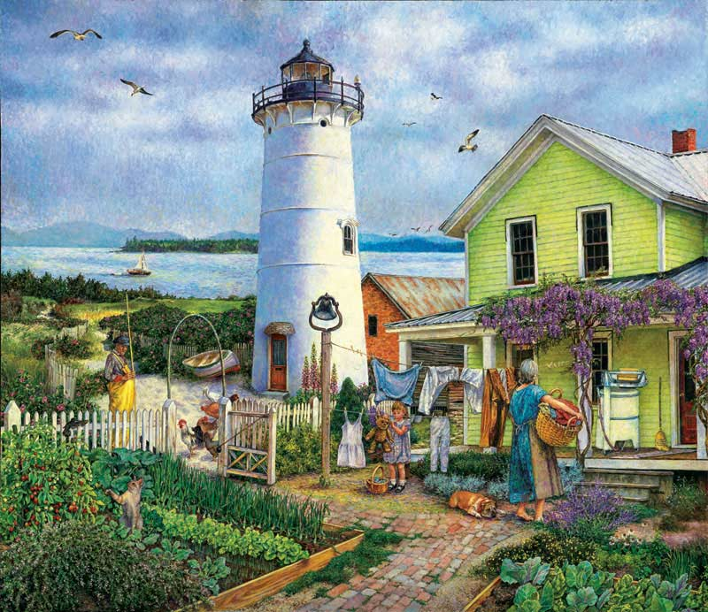 Lighthouse Life Jigsaw Puzzle