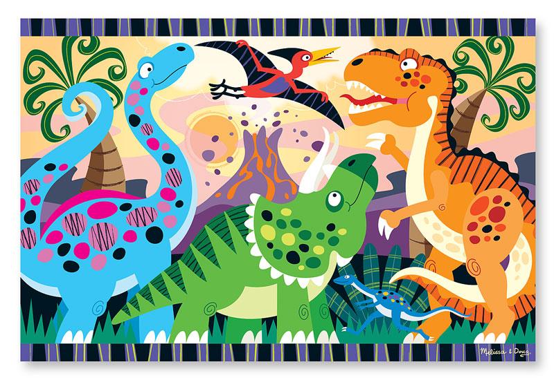Dinosaur Dawn - Floor Dinosaurs Children's Puzzles