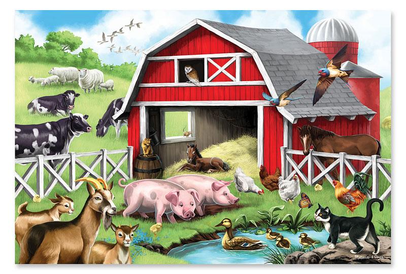 Farm Friends - Floor Farm Animals Floor Puzzle