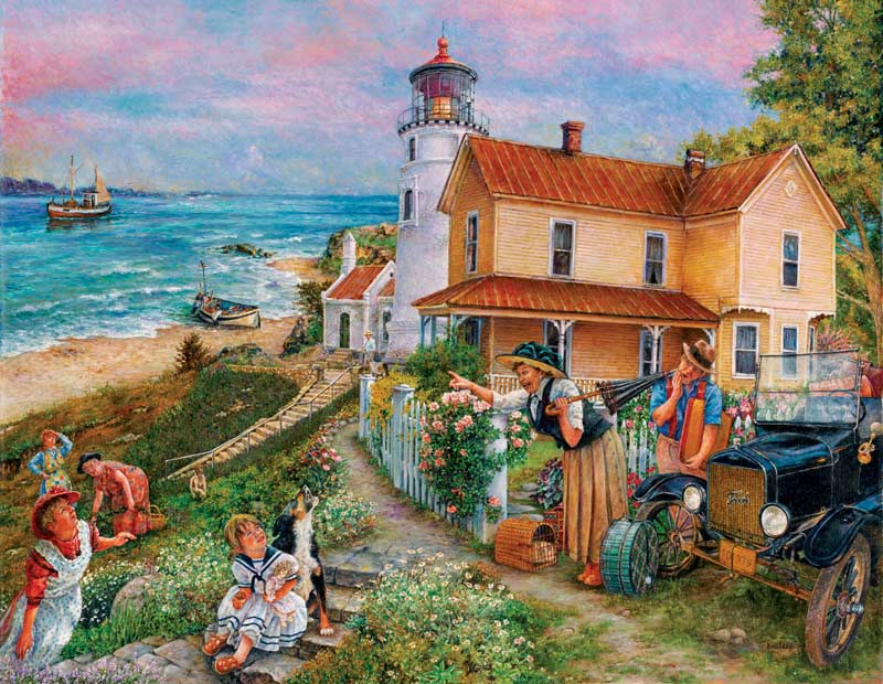 Lighthouse Surprise Lighthouses Jigsaw Puzzle