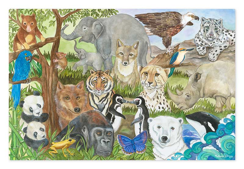 Endangered Species Animals Jigsaw Puzzle