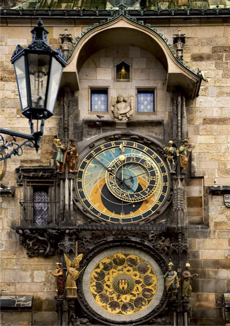 Prague Clock (Around the World) - Scratch and Dent Travel Jigsaw Puzzle