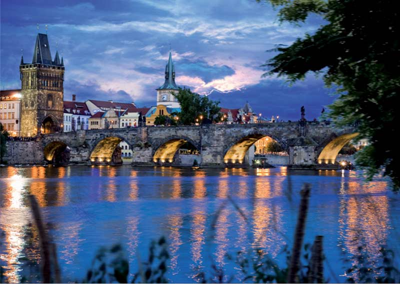 Prague Bridge (Around the World) Travel Jigsaw Puzzle