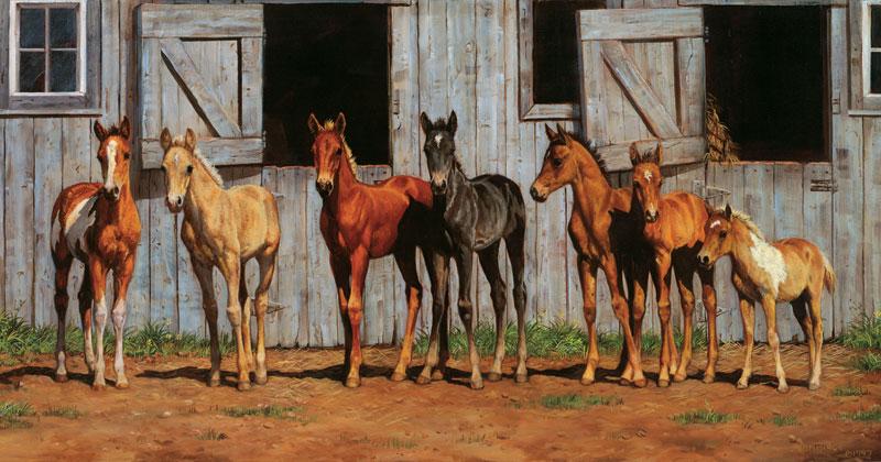 Little Partners Horses Jigsaw Puzzle