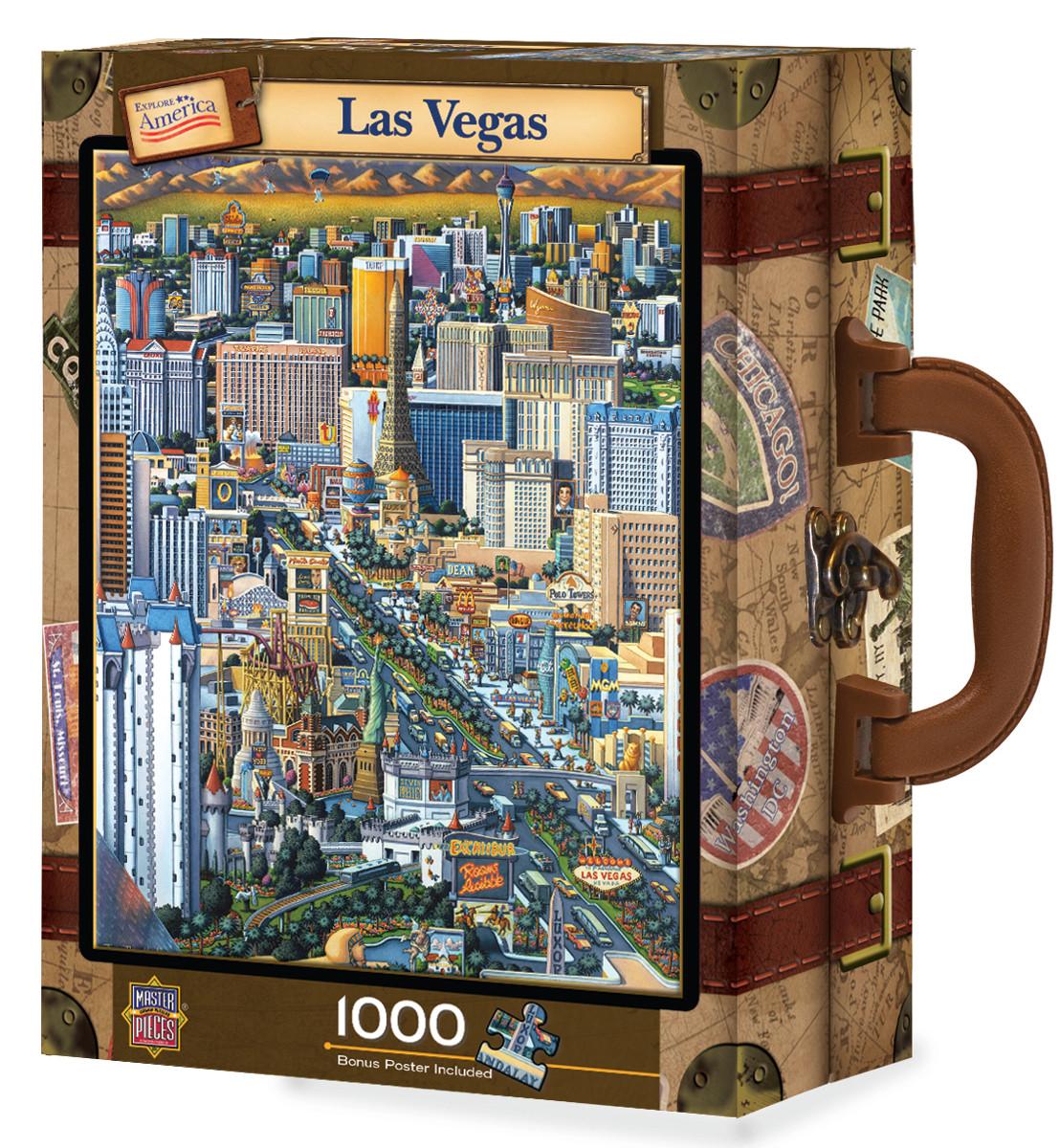 Las Vegas, Luggage Edition Las Vegas Collectible Packaging