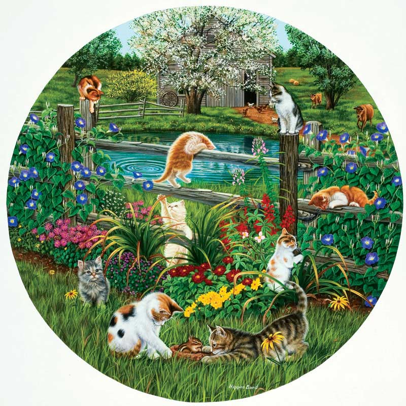 Cats at Play Cats Jigsaw Puzzle