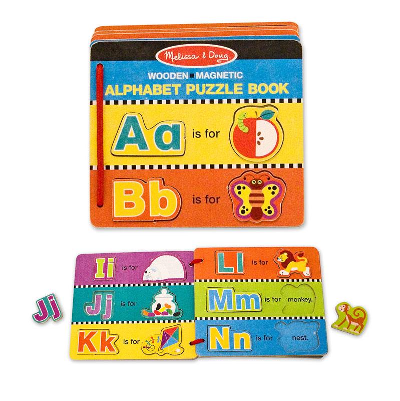 Alphabet Puzzle Book Language Arts Children's Puzzles