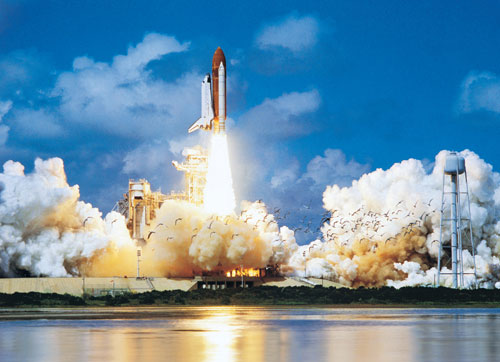 Space Shuttle Take-off History Jigsaw Puzzle