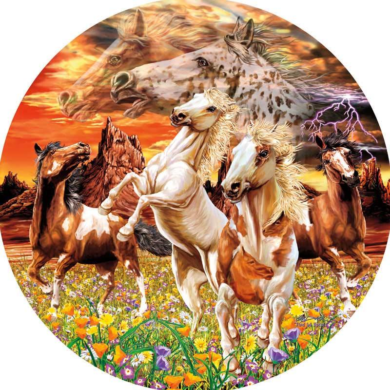 14 Horses Horses Jigsaw Puzzle