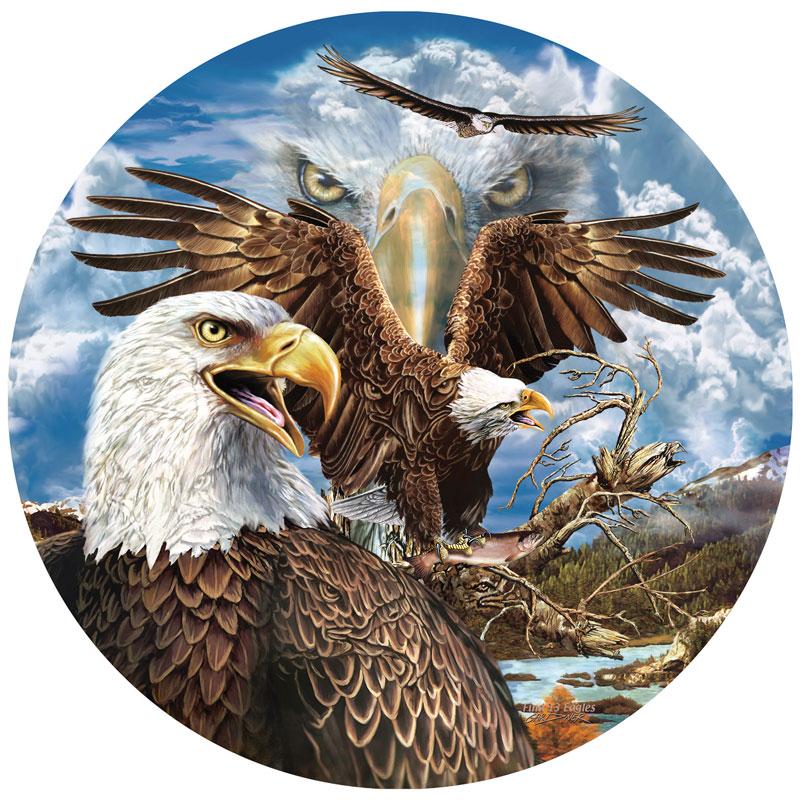 13 Eagles Eagles Jigsaw Puzzle
