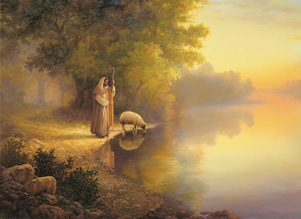 Beside Still Water Religious Jigsaw Puzzle