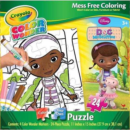 Crayola Color Wonder Puzzle - Doc McStuffins Children\'s Puzzles ...