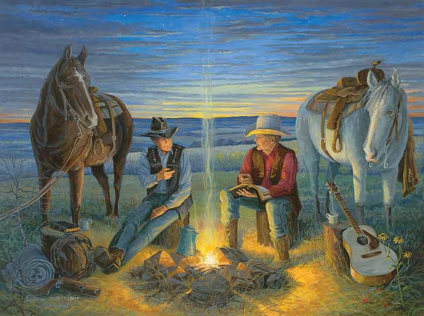 Sharin' the Light Countryside Jigsaw Puzzle