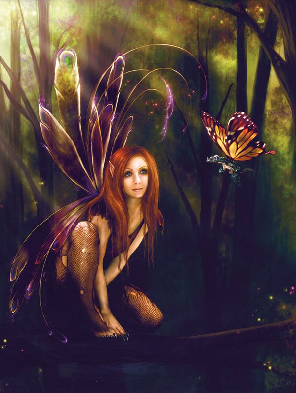 Chance Encounter Fairies Jigsaw Puzzle