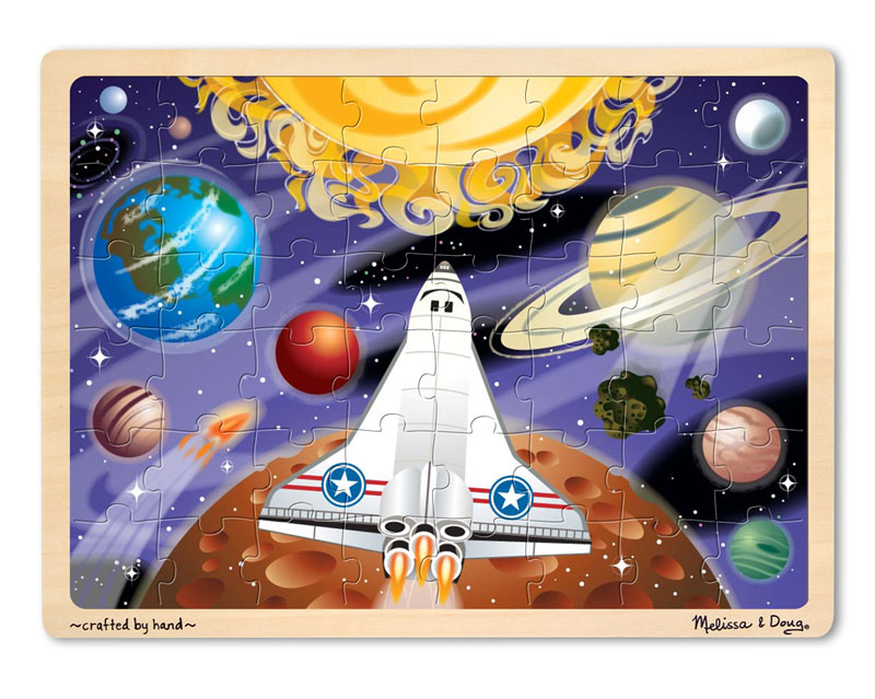 Space Voyage Jigsaw Science Children's Puzzles