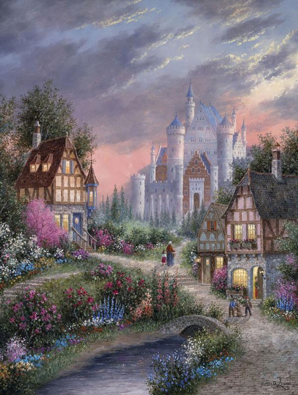 Enchanted Castle Castles Jigsaw Puzzle